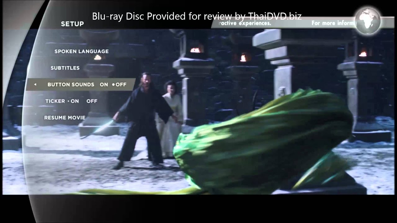 Download 47 Ronin 2013 Blu ray Menu Preview