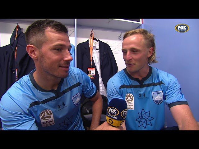 Roaming Ryan in the Sydney FC sheds | A-League