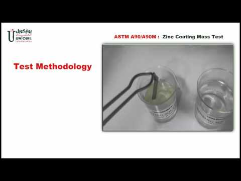 Zinc Coating Mass Test