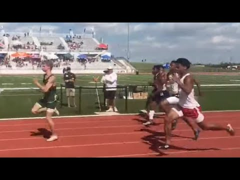 Texas Teen OBLITERATES World High School Record In 100m Dash