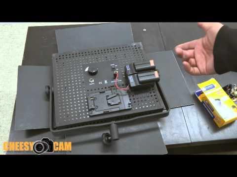 DIY Sony Battery Power for 600 900 LED Light Panels