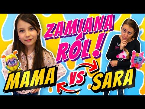 Zamiana Ról Sara VS Mama #171 Sara I Moji Pops