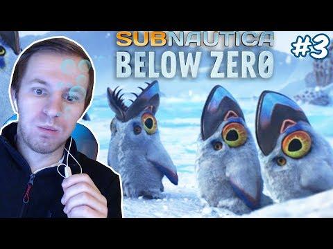 ТРЕТЬЕ ПОГРУЖЕНИЕ В САБНАТИКУ - НИЖЕ НУЛЯ | Subnautica Below Zero #3