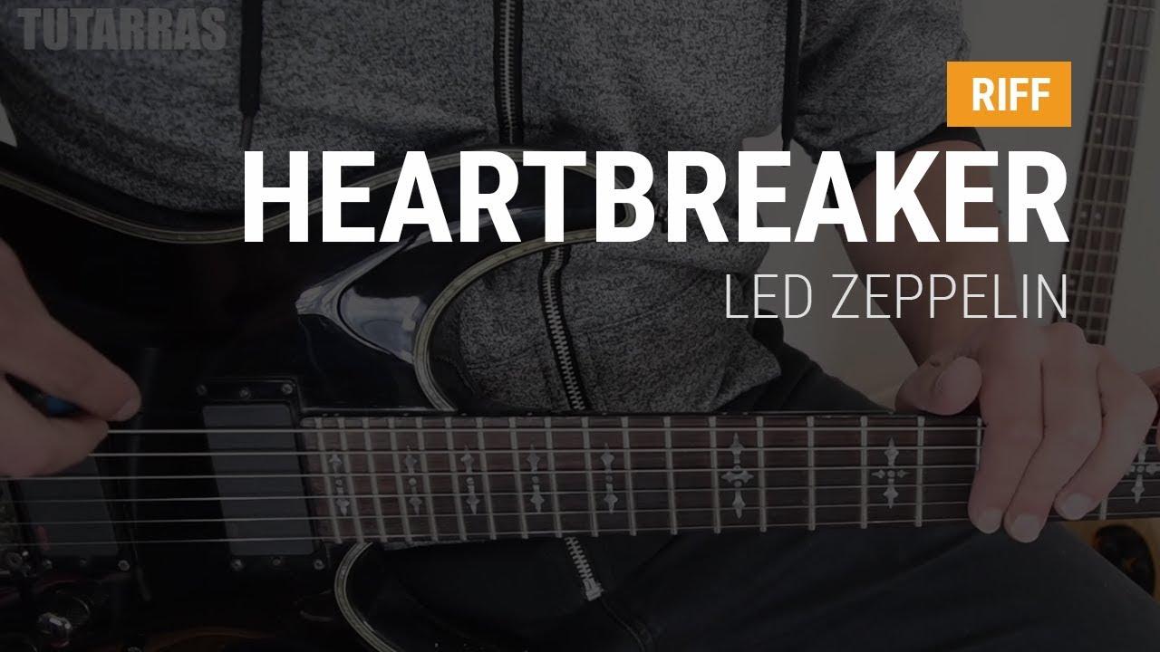 Riffs Legendarios - Heartbreaker de Led Zeppelin TUTORIAL GUITARRA