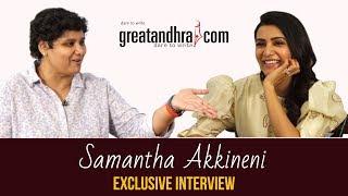 Samantha Akkineni interview with Nandini Reddy I Oh Baby I Samantha Greatandhra