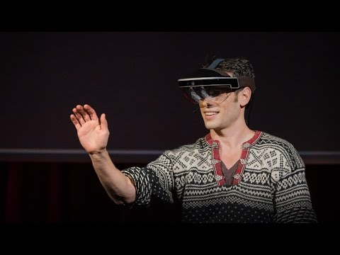 A glimpse of the future through an augmented reality headset | Meron Gribetz
