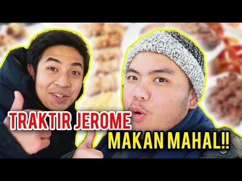 TRAKTIR NIHONGO MANTAPPU MAKANAN MAHAL DI JEPANG!! - PROS VLOG JEPANG DAY 1