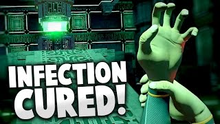 Subnautica - INFECTION CURED! Can We Disable Array?! New Biome & More! - Subnautica Gameplay