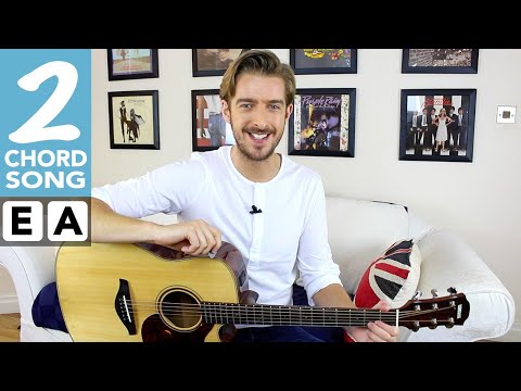 EASY 2 Chord Song #5 | Achy Breaky Heart | Play TEN guitar songs with two EASY chords