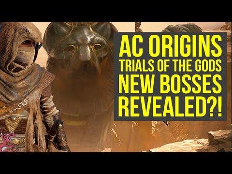 Assassin's Creed Origins Trials of the Gods NEW BOSSES REVEALED?! (AC Origins Trials of the Gods)