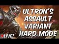 Ultron's Assault Variant: HARD Mode Completion Clear Part 1 - Marvel Contest Of Champions