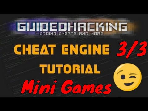 Cheat Engine Tutorial Guide 3/3 Tutorial Games