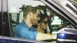 Newly married Harry and Meghan return home to Kensington Palace