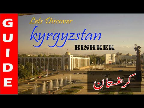 Travel bishkek kyrgyzstan 2018