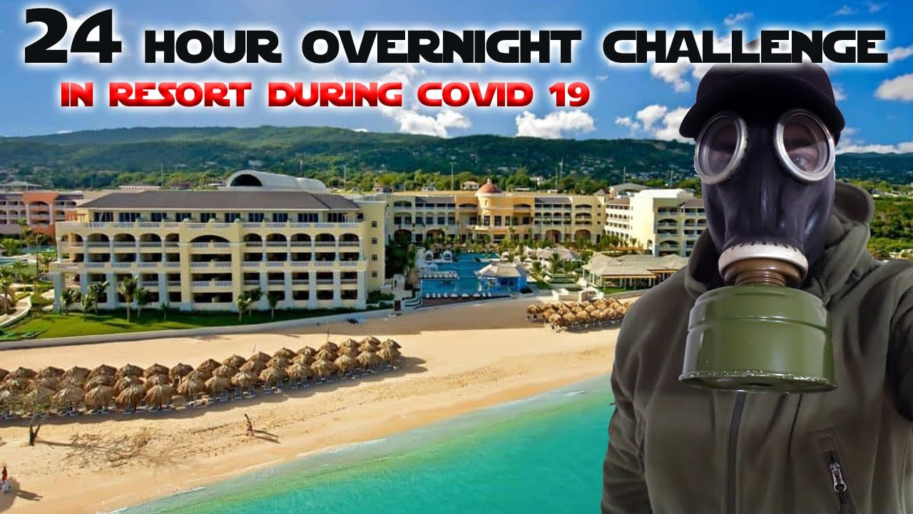 24 HOUR OVERNIGHT CHALLENGE IN A PUNTA CANA RESORT DURING COVID19!