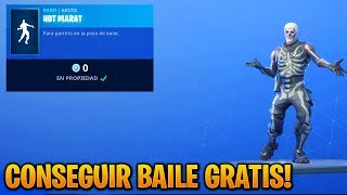 NEW FREE DANCE IN FORTNITE RIGHT NOW! (How to Get Dance Hot Marat Free in Fortnite)
