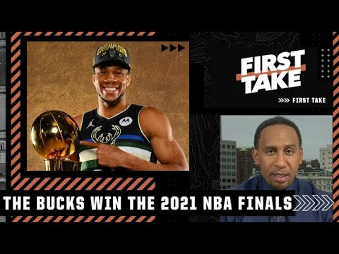 Stephen A. reacts to Giannis leading the Bucks to an NBA championship   First Take