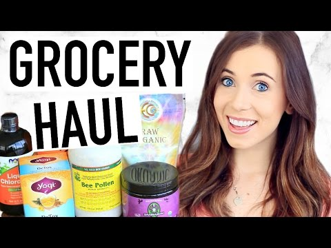 Healthy Grocery Haul! Superfood iHerb Haul! iHERB COUPON CODE