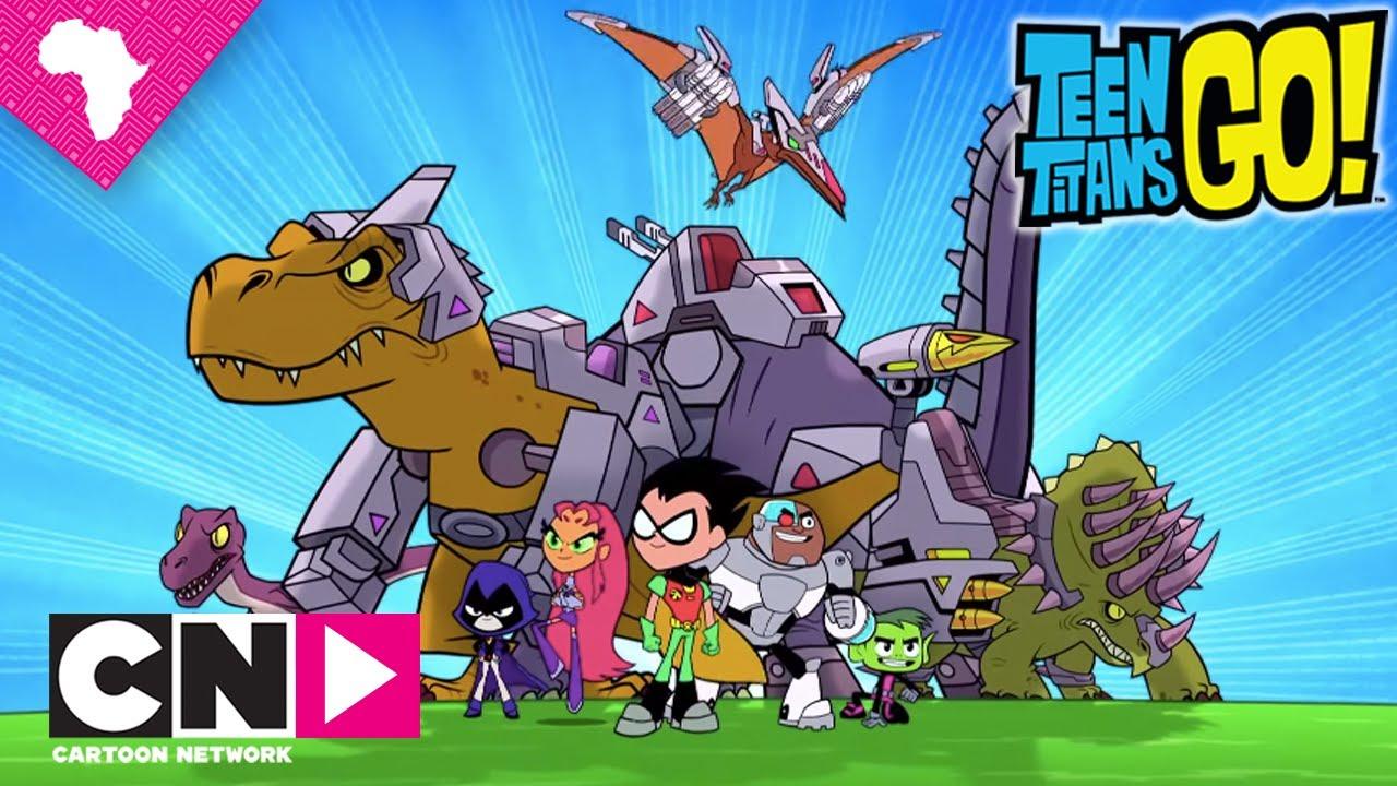 Dino Fight  Teen Titans Go  Cartoon Network - Youtube-5448