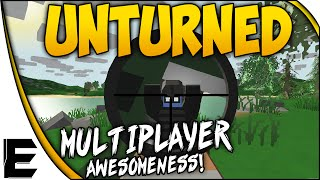 Unturned ➤ Multiplayer Gameplay - Car Chase, Base Building, Bunker Raid & Hilarious Action! - Ep. 3
