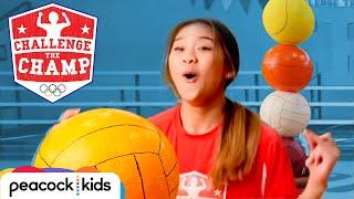 Epic Balance Challenge! (ft. Elite Gymnast Sunisa Lee)   CHALLENGE THE CHAMPS