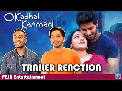 OK Kanmani Trailer Reaction | PESH Entertainment