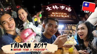 Gambar cover TAIPEI AIRBNB TOUR + FOOD TRIP | SHILIN NIGHT MARKET |  TAIWAN 2019 - DAY 1