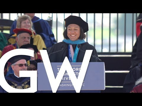 2018 GW Commencement Honoree - Elana Meyers Taylor