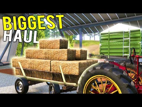 OUR BIGGEST MONEY HAUL! This Stuff Is Worth It's Weight in Gold! - Farmer's Dynasty Gameplay