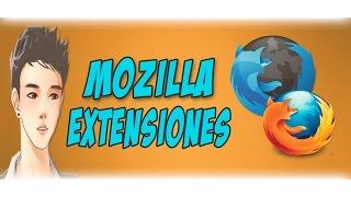 Las Mejores Extensiones Para Mozilla Firefox 2015