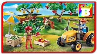 Playmobil Country 6870 Recoltarea fructelor unboxing si review StarterSet Obsternte  Bogdan`s Show