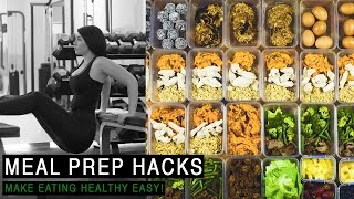 MEAL PREP HACKS / How To Meal Prep // Rachel Aust