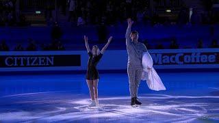 Дарья Павлюченко - Денис Ходыкин. Показательные выступления. Чемпионат Европы по фигурному катанию 2