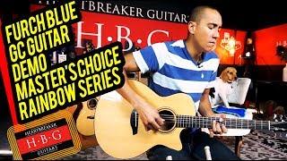 Furch Blue GC Guitar Demo Master's Choice Rainbow Series