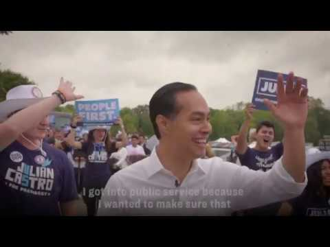 Secretary Julián Castro Endorses Elizabeth Warren for President