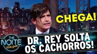 Dr. Rey fica revoltado com a saúde brasileira e solta o verbo | The Noite (23/11/17)