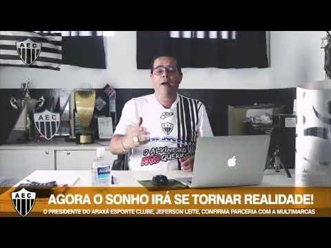 Araxá Esporte busca parceria com grande empresa de Belo Horizonte