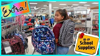 EXTRA SCHOOL SUPPLIES /SHOPPING BACKPACK / HUGE HAUL | #299