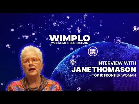 Interview with Jane Thomason | Blockchain use cases in eliminating socio economic disparity