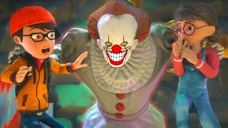 Nick Love Tani - Scary Clown IT - Rescue Tani - Scary Teacher 3D - BuzzStar Animation