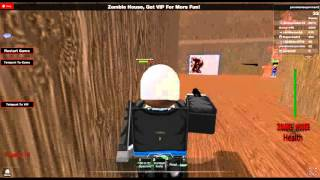 roblox Cops and Robbers/zombies part 1 (fail)