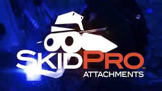 Skid Pro Skid Steer Snow Bucket - HD & Mega