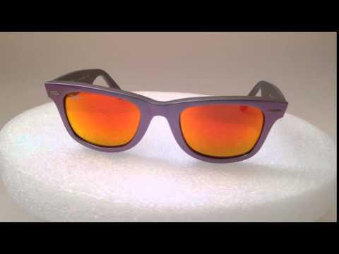 new-authentic-ray-ban-wayfarer-sunglasses-purple-cosmo-mars-orange-flash-rb2140