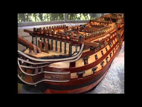 H.M.S. VICTORY Model Ship by Bill