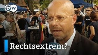AfD Spitzenkandidat Kalbitz steht zu seiner rechtsextremen Vergangenheit | DW Interview