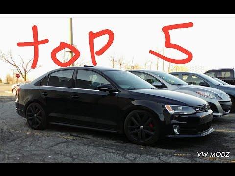 5 Things I Love About My VW MK6 JETTA GLI !!!