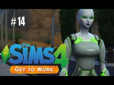 Sims 4: Get To Work (RETAIL) P14 - Time To Build That House!