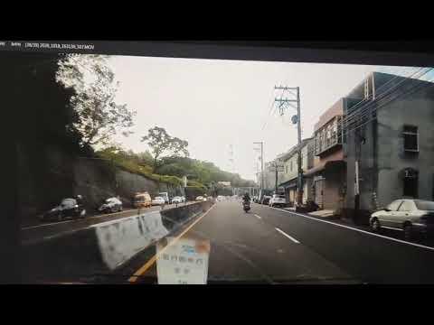 跨越雙黃線超車還闖紅燈