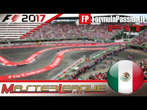 Master League FormulaPassion.it F1 2017 #18 GP Messico 08.03.18 - Live Streaming 1080p