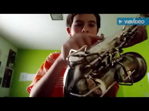 How To Play We Are Number One On An Alto Saxophone